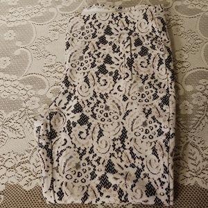 Chico's Sz 1.5 Lace Print Juliet Pants